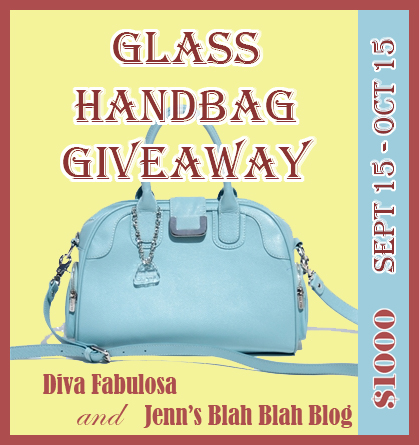 The Glass Handbag Giveaway – Up to $1,000 RV!