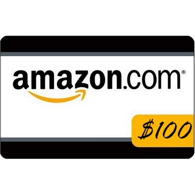 $100 Amazon Gift Card or $100 PayPal Cash – Ends 11/1/12