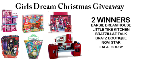 Girls Dream Christmas Giveaway~ Ends 12/12