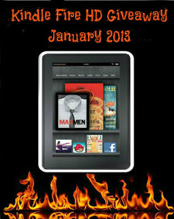 Authors Kindle Fire Giveaway – Ends 1/31