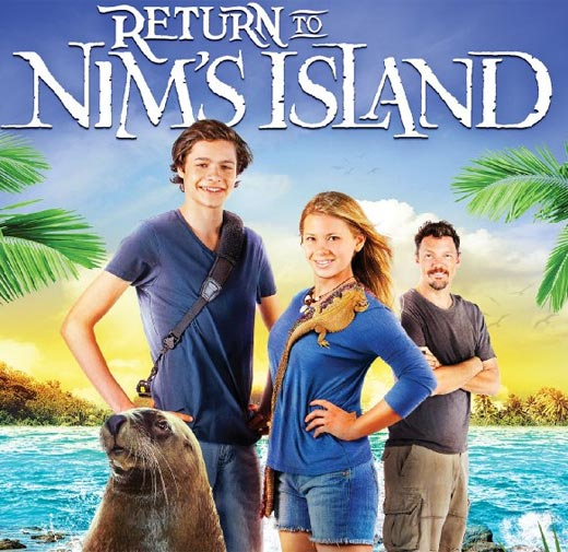 Return to Nim's Island  FLASH  Giveaway – Ends 3/21