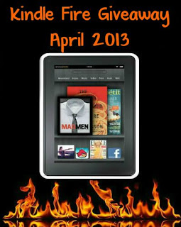 April Kindle Fire Giveaway – Ends 4/30