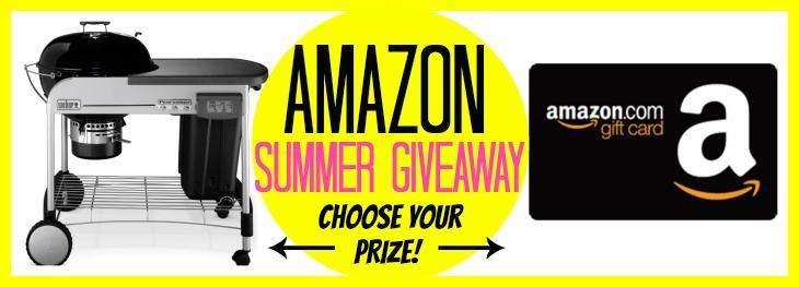 Amazon (Choose Your Prize) Summer Giveaway – Ends June 24