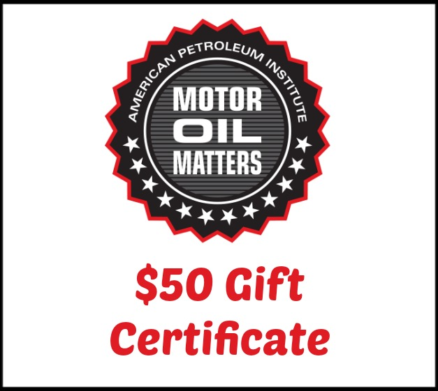 MOM- Motor Oil Matters – Information and Flash Giveaway