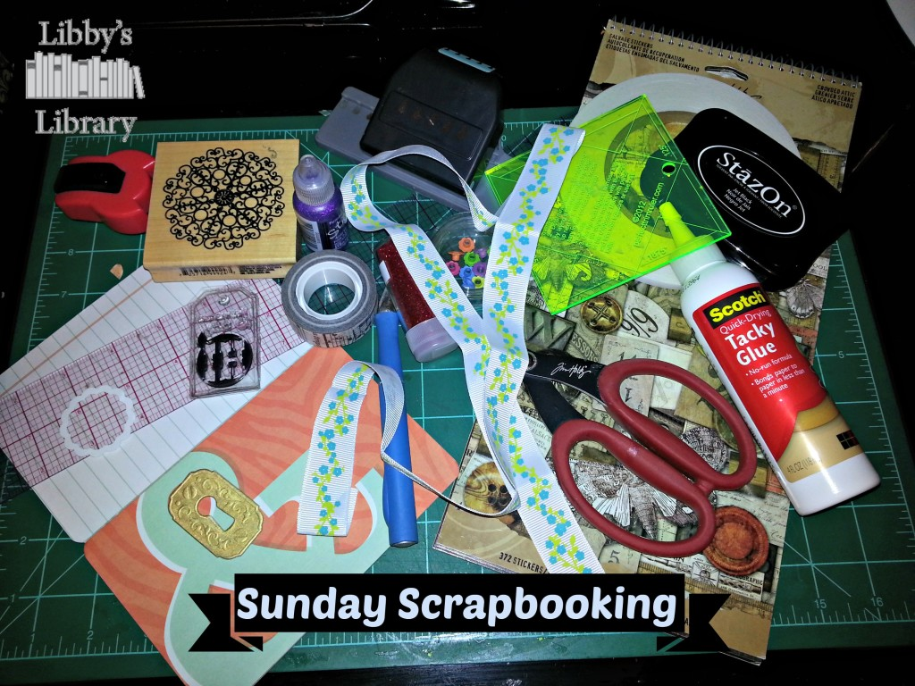 Sunday Scrapbooking Button