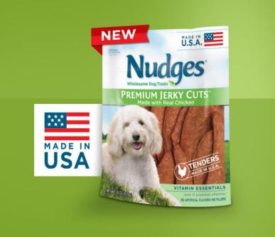 Nudges – Wholesome Dog Treats Made in the USA