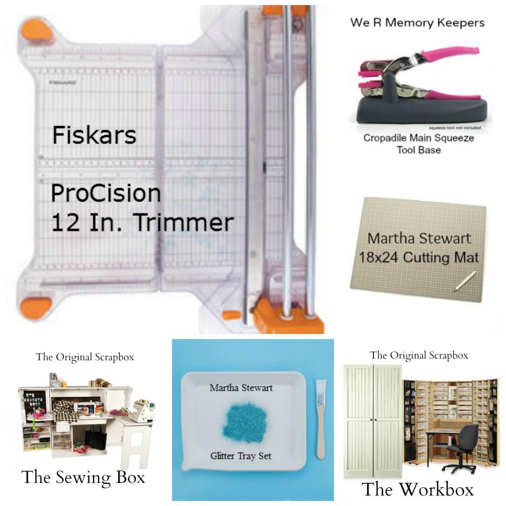 Scrapbook Tools Collage