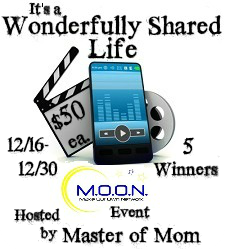 It's a Wonderfully Shared Life (Wondershare) – Giveaway – Ends 12/30