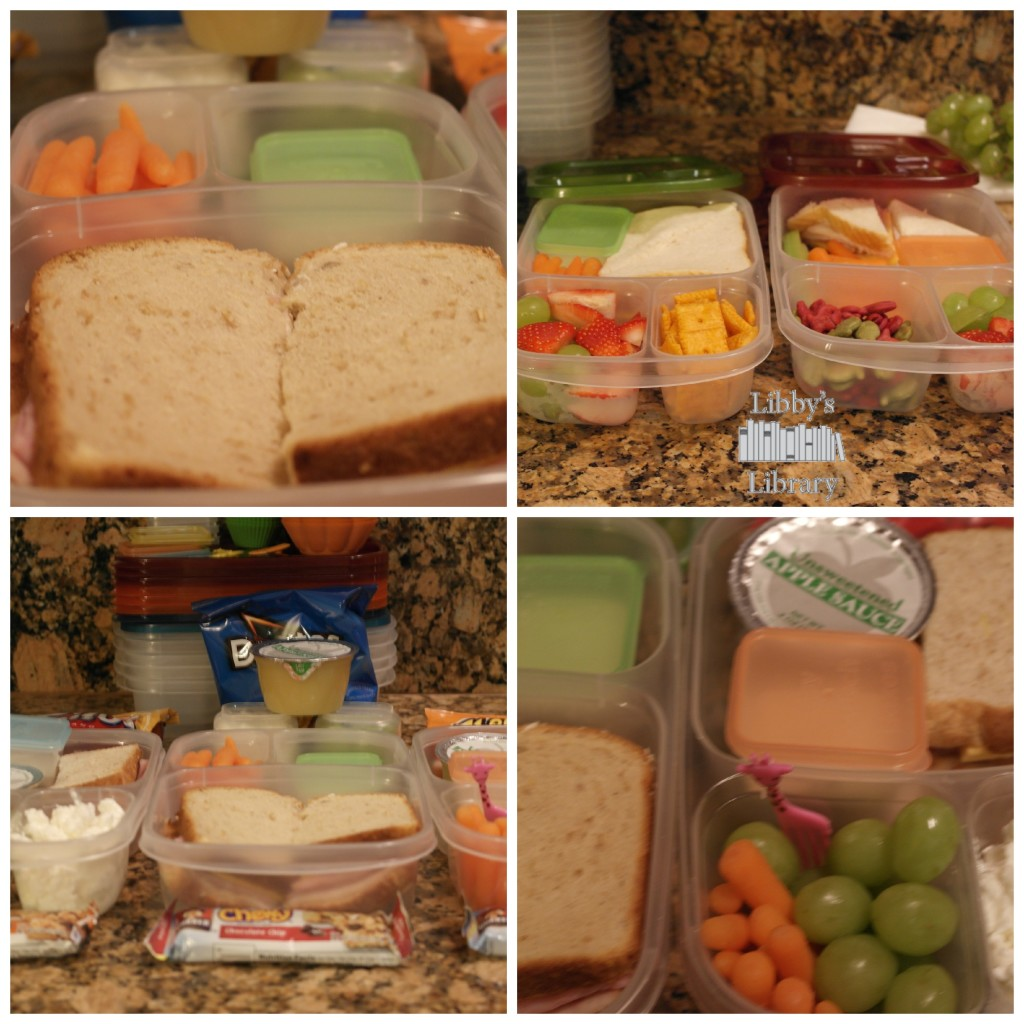 This weeks lunches 1