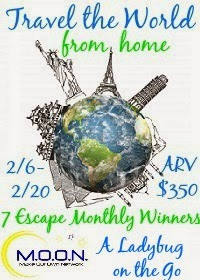 Travel the World From Home – Giveaway