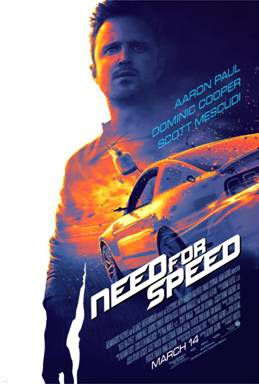 DreamWorks Pictures' NEED FOR SPEED Movie – Big Game Spot and Extended Look Now Available!!!