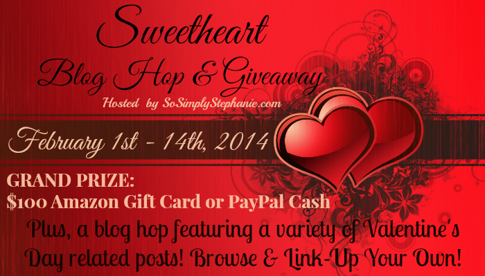 Sweetheart Blog Hop and Giveaway
