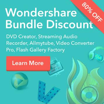 Wondershare Software Bundle Sale – Priced at 80% Off!