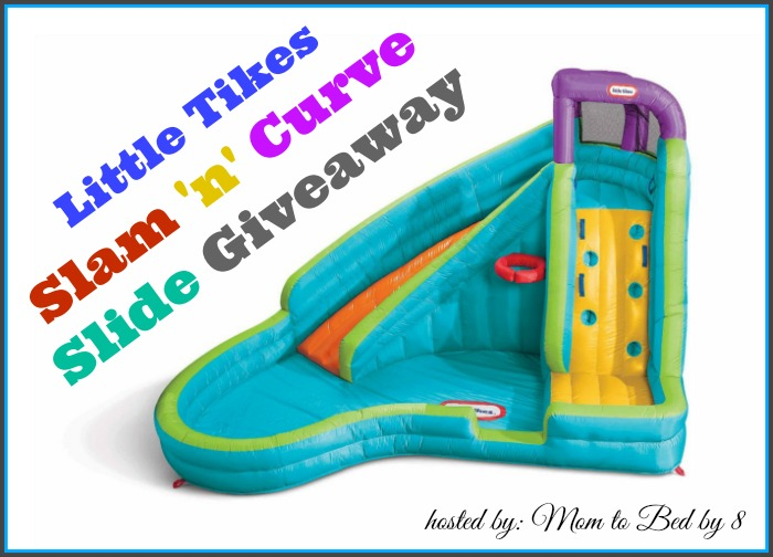 Little Tikes Slam 'n' Curve Giveaway
