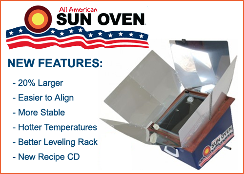 Let's Be Prepared – Hurricane Season – Cooking in My All American SUN OVEN®
