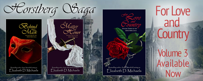 For Love and Country, by Elizabeth D. Michaels / Book Blast Spotlight and Giveaway