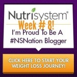 Nutrisystem Week 8 Check In #NSNation