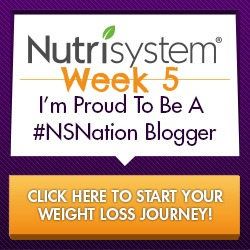 Nutrisystem Week 5