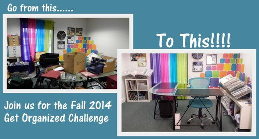Join FREE Fall 2014 Get Organized Challenge