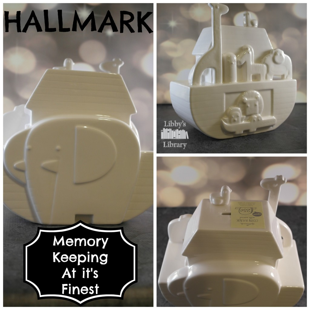 Hallmark Memory Keeping Noah's Ark Ceramic Bank