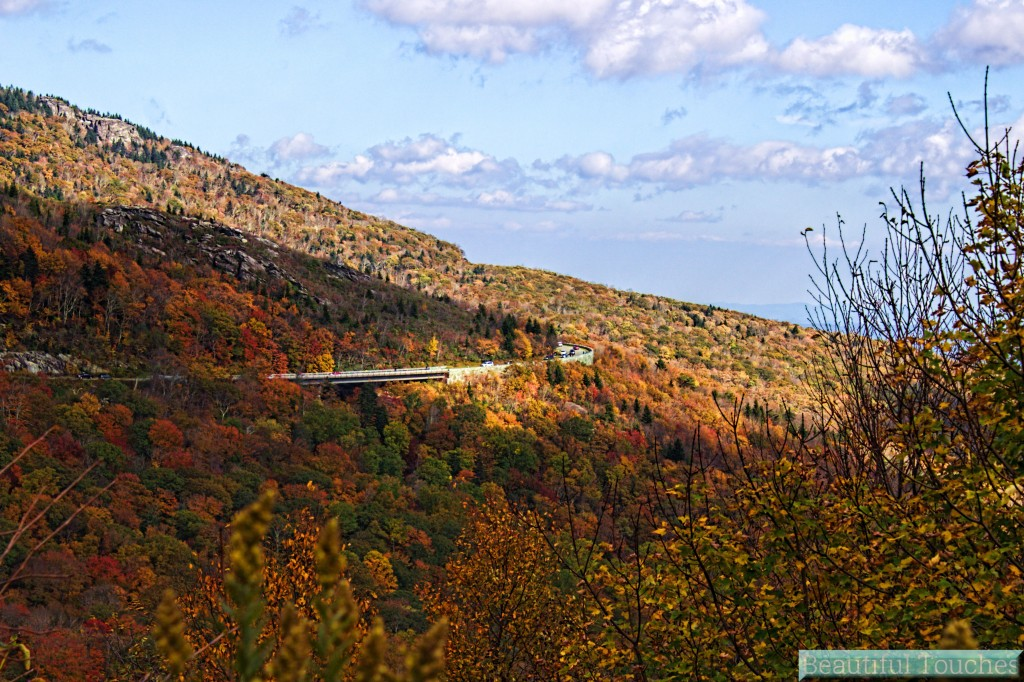 Linn Cove Viaduct on Blue Ridge Parkway Maggie Valley