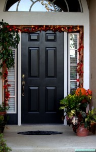 Autumn Front Door Motif