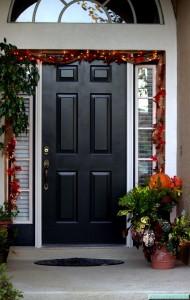 Autumn Front Door Motif