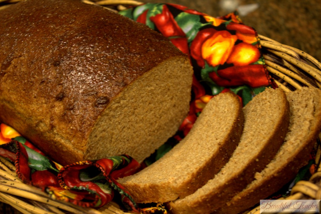 Real Whole Wheat and Honey Bread