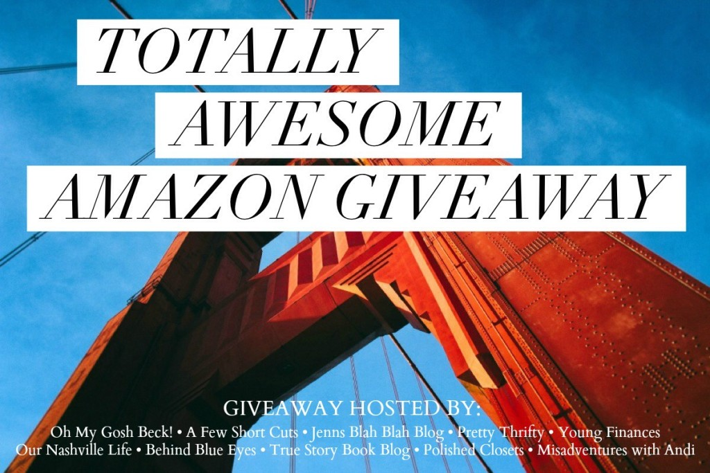 Totally Awesom Amazon Giveaway – $750 Amazon Gift Card