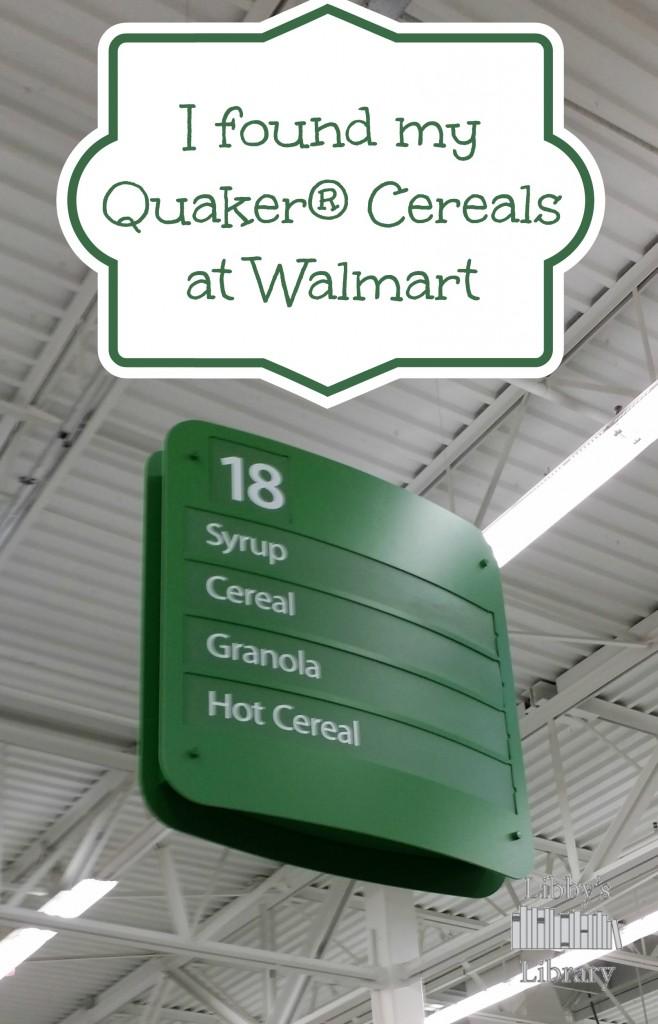 Quaker® at Walmart 2