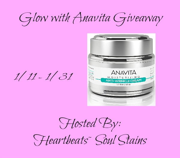 Glow with Anavita Giveaway