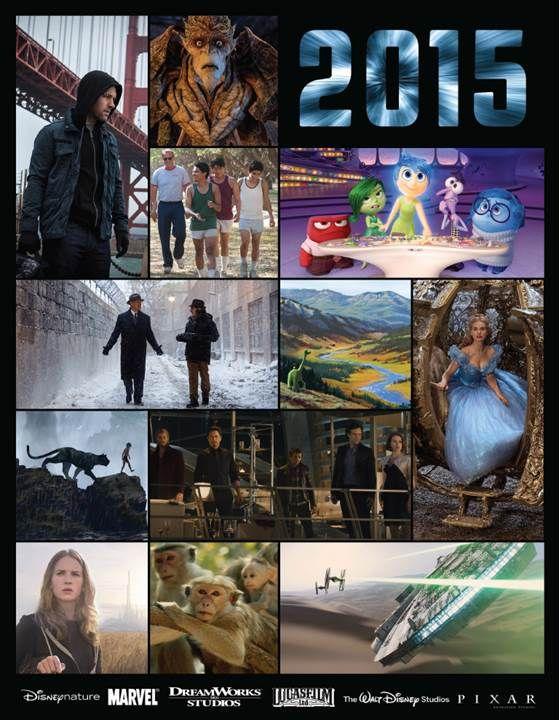 2015 Walt Disney Studios Motion Pictures Slate!!!