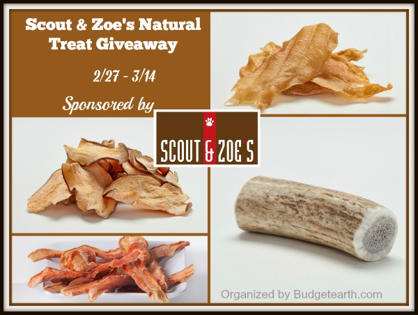 Scout & Zoe's Natural Treat Giveaway