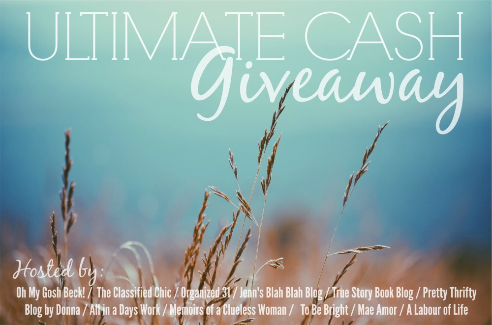 Ultimate Cash Giveaway – $600!