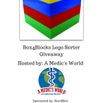 Box4Blocks Lego Sorter Giveaway