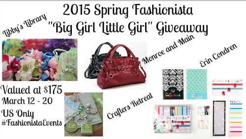 Spring Fashionista Big Girl Little Girl Giveaway