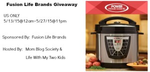 Power Pressure Cooker XL by Fusion Life Brands Giveaway