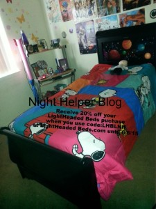 Lighted Head Bed Giveaway