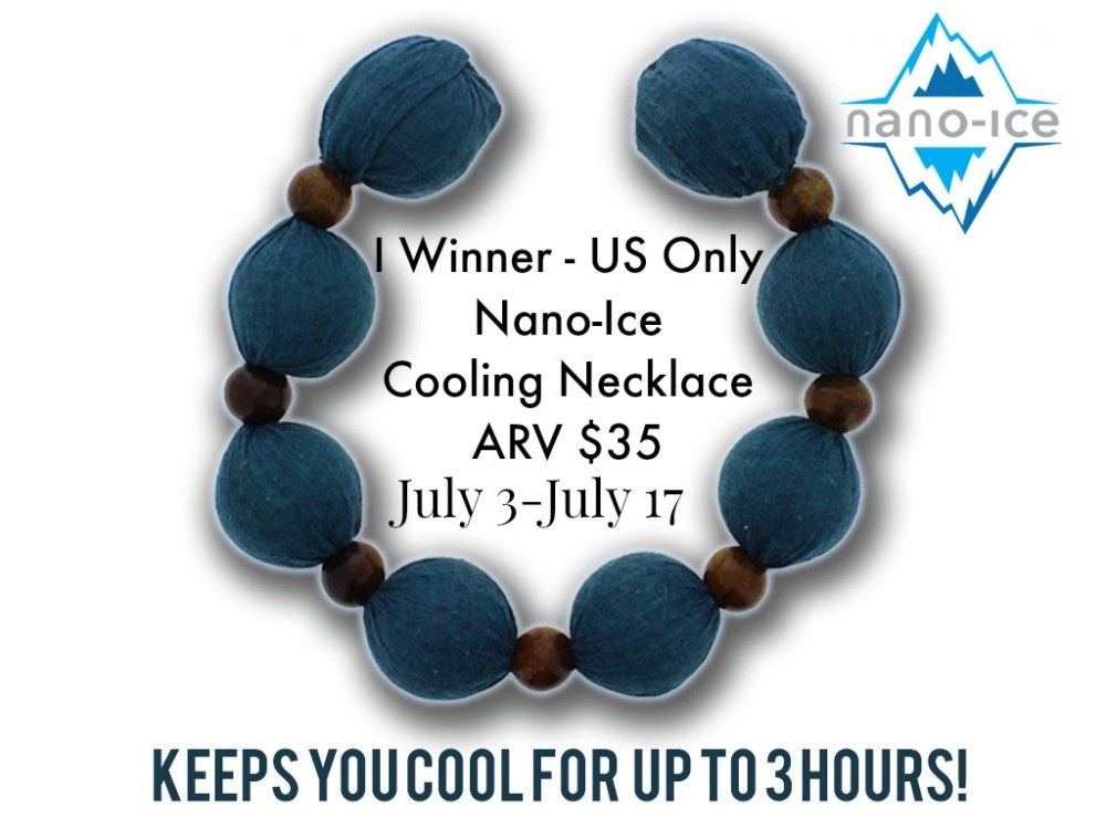 Nano-Ice Cooling Necklace Giveaway