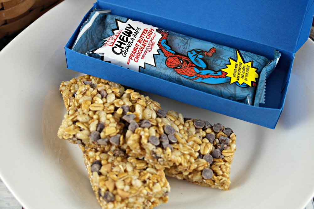 New Super Hero Sized Chewy Granola Bars