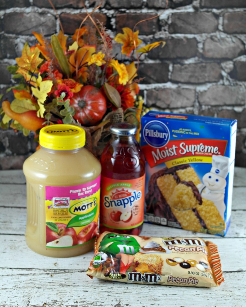 MARS Fall Harvest Dump Cake and Sweepstakes
