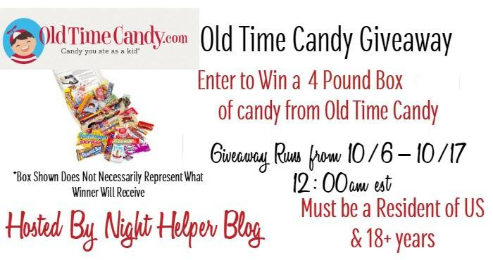 New Old Time Candy Banner