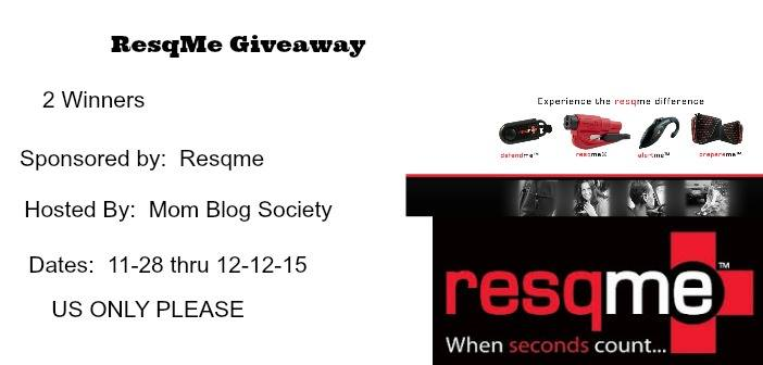 Resqme Safety Giveaway