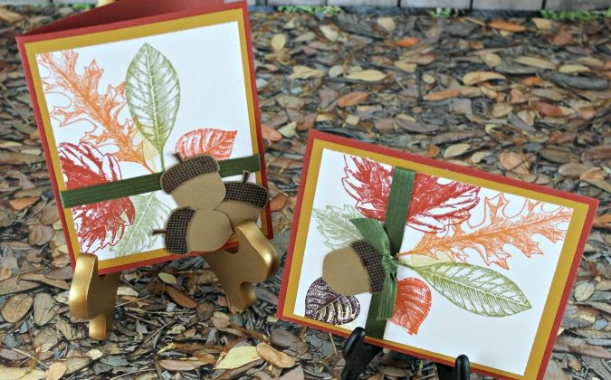 Stampin' Up Fall Cards