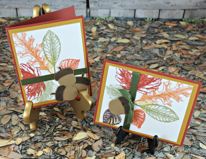 A Little Taste of Fall Y'all With Stampin' Up