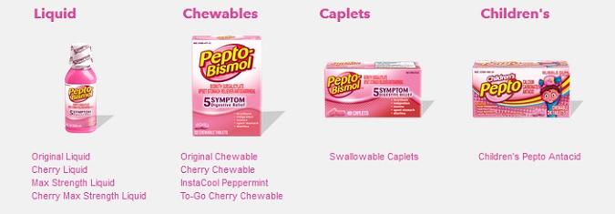 Pepto- Bismol Products