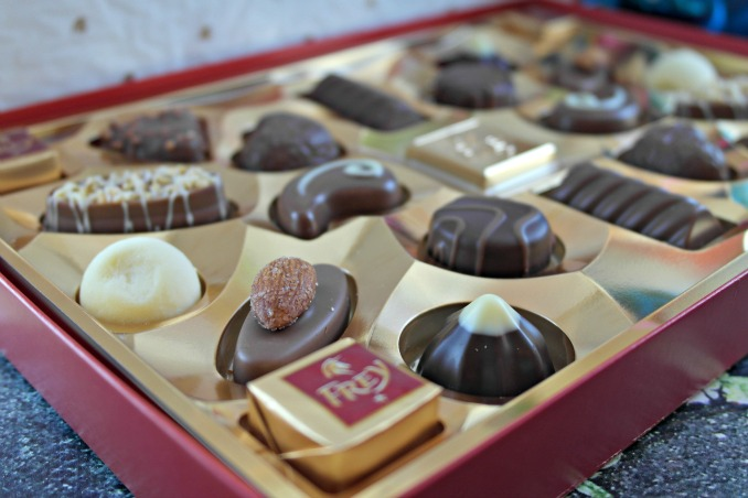 Chocolate Frey Assorted Pralines Box