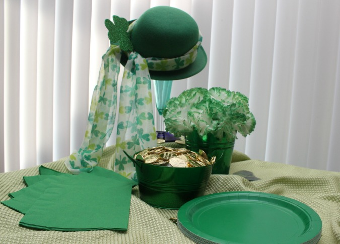 St. Paddy's Day Shamrock Invitation