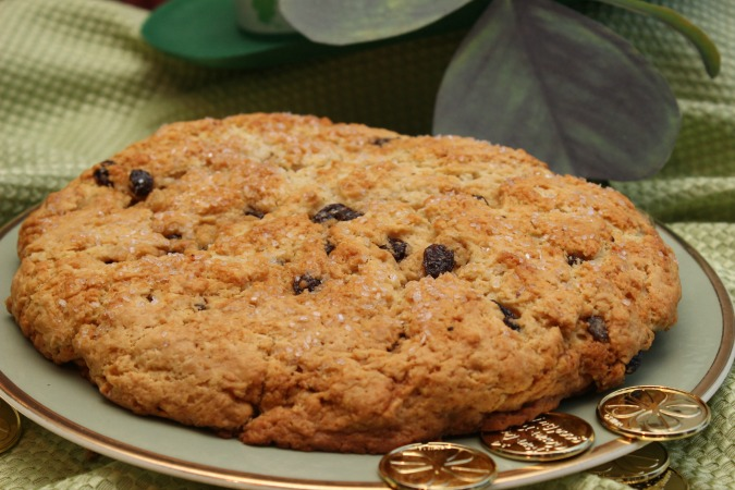 St. Paddy's Day Irish soda bread