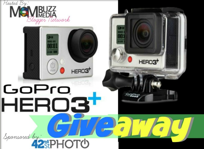 GOPRO Hero 3+ GIVEAWAY Sponsored by 42nd Street Photo